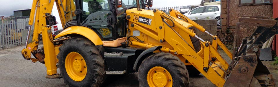 Photo: plant equipment repairs and service by R and S Plant Sales Penrith Cumbria